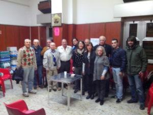 durante un'iniziativa dell'ass.ne culturale Lucchina e Ottavia